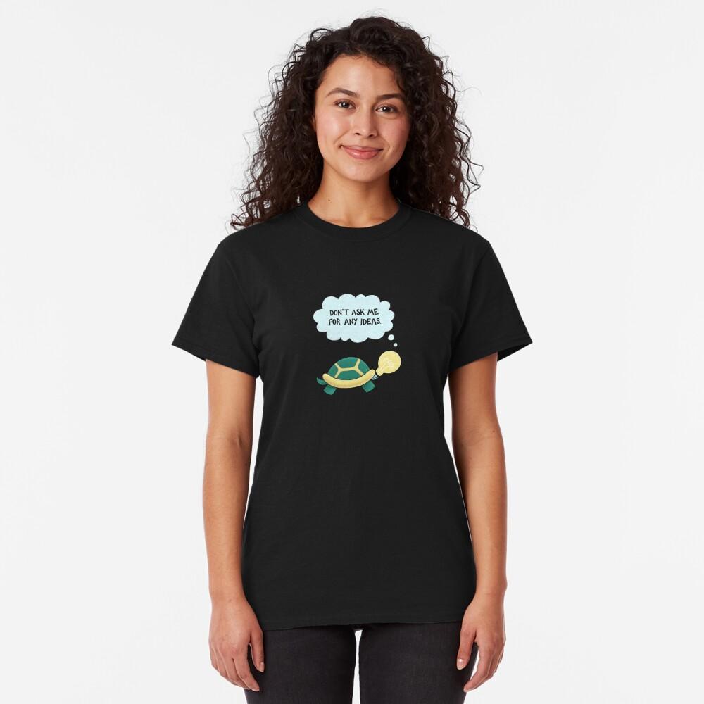 Idea Turtle Classic T-Shirt