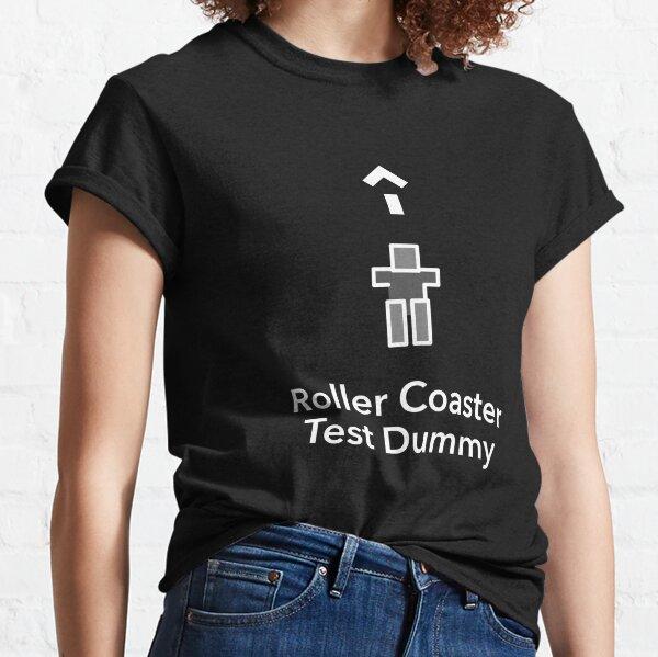 Roller Coaster Test Dummy Dark Classic T-Shirt