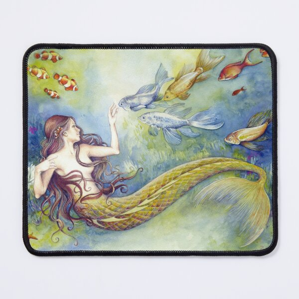 In the Deep Blue Yonder Mouse Pad