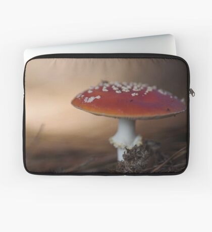 There is a fairy under the toadstool Laptop Sleeve