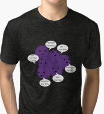 Member Berries Remember/ Purple Tri-blend T-Shirt