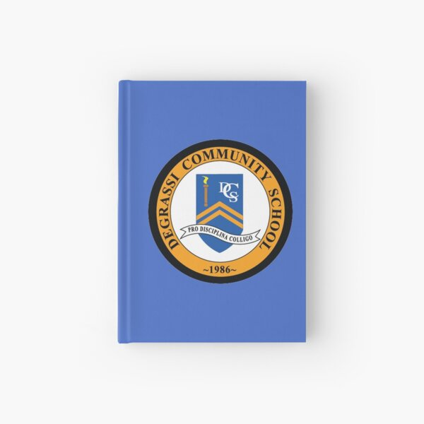 Degrassi School Logo - TV Series Hardcover Journal