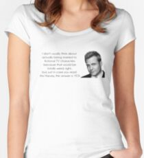 Want to Marry Harvey Specter? Fitted Scoop T-Shirt