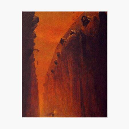 Untitled. Zdzislaw Beksinski. 1972. Art Board Print