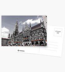 München Deutschland atemberaubende Architektur Postkarten
