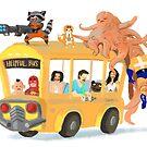 Helpful Bus by WafflesCat