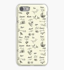 The Chemistry of Food iPhone Case/Skin