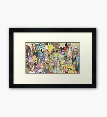 Rick and Morty Total Rickall Framed Print