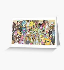 Rick and Morty Total Rickall Greeting Card