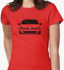 MK7 Golf GTI Front Womens Fitted T-Shirt