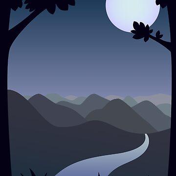 Moonlight River by MrPaulin