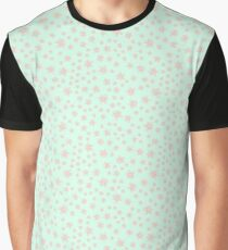 Color floral pattern with flowers  Graphic T-Shirt