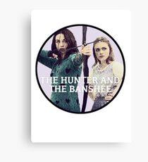 Hunter and the Banshee Canvas Print