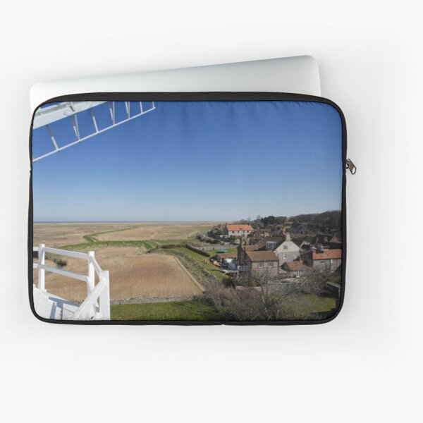 Cley windmill - the view from the fan-stage Laptop Sleeve