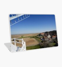 Cley windmill - the view from the fan-stage Laptop Skin