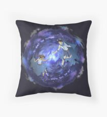 The Lunar Chronicles - Cinder and Kai Throw Pillow