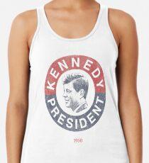 Jahrgang 1960 Kennedy für Präsident T-Shirt Racerback Tank Top