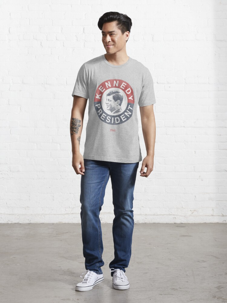 Alternate view of Vintage 1960 Kennedy for President T-Shirt Essential T-Shirt