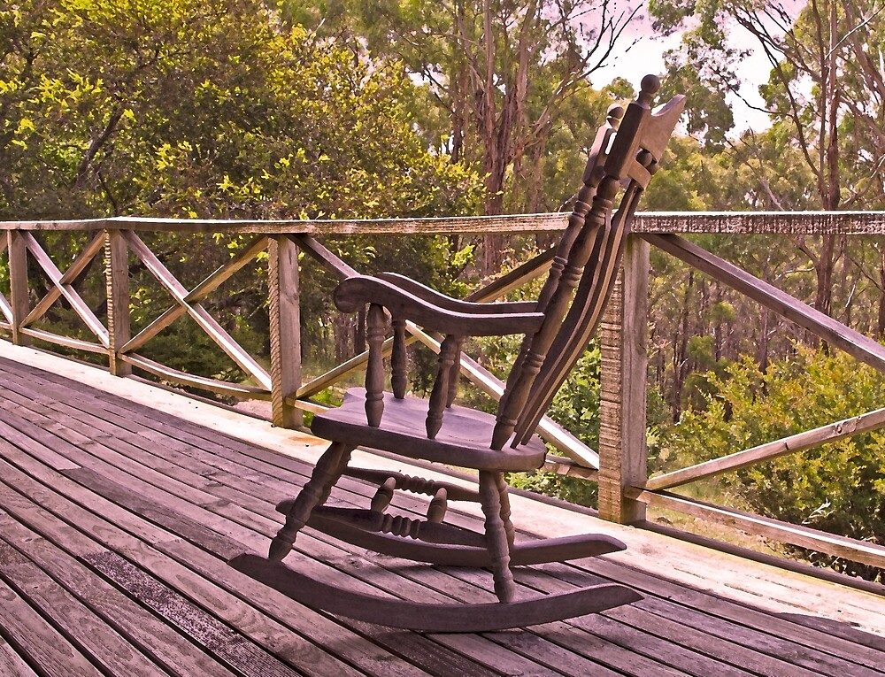Sensational Home Among The Gumtrees And An Old Rocking Chair By Bralicious Painted Fabric Chair Ideas Braliciousco