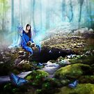 The Blue Lady by gingerkelly