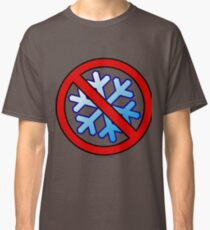 No Special Snowflakes - Red No Circle Symbol Classic T-Shirt