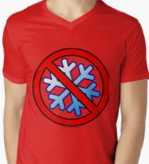 No Special Snowflakes - Red No Circle Symbol T-Shirt