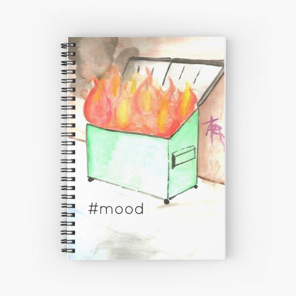 Dumpster Fire Spiral Notebook