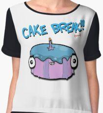 CAKE BREAK (down) Women's Chiffon Top