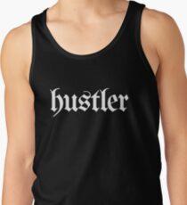 Hustler - White Tank Top