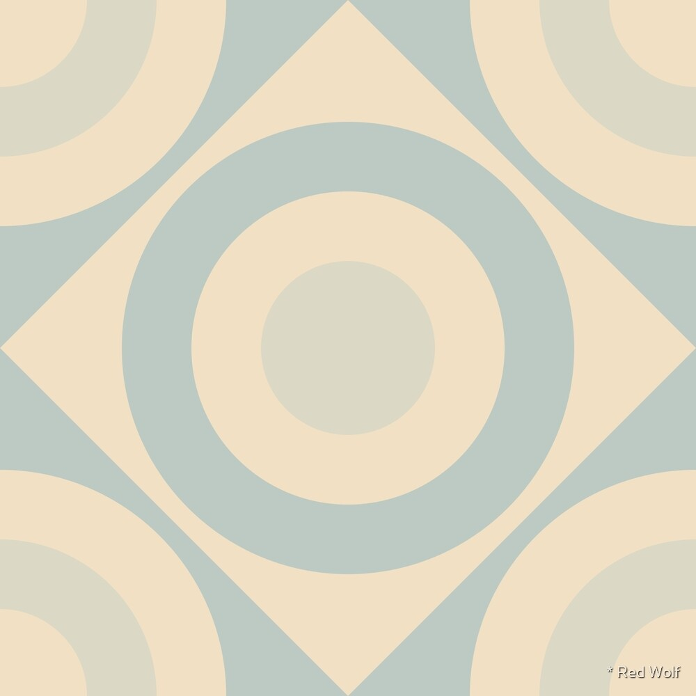 Geometric Pattern: Rondel Diamond: Julio by * Red Wolf