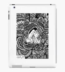 Eeyore Fanart Zendoodle iPad Case/Skin