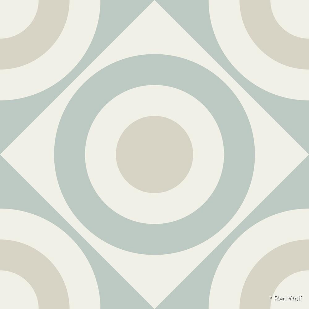 Geometric Pattern: Rondel Diamond: Savon by * Red Wolf