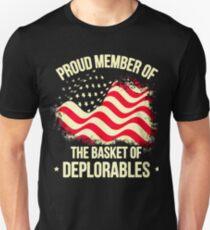 PROUD MEMBER OF - THE BASKET OF DEPLORABLES Unisex T-Shirt