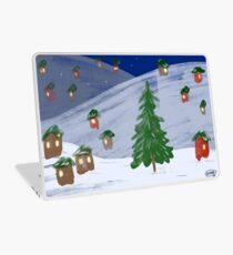 Winter Town by VIXTOPHER Laptop Skin