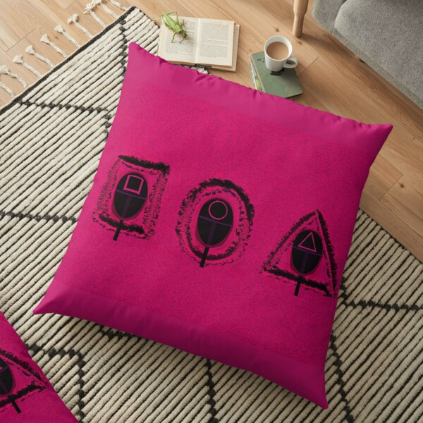 Squid Game X Heads in The Sand 01 Floor Pillow
