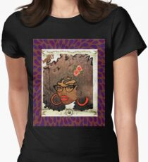 Beautiful and Fly Brown Girl Womens Fitted T-Shirt