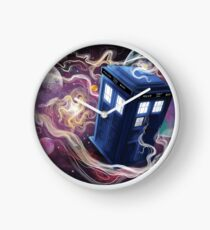 TARDIS In The Time Vortex Clock