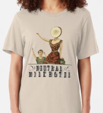 Neutral Milk Hotel - In the Aeroplane Over the Sea Slim Fit T-Shirt