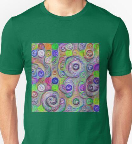Space snowballs #DeepDreamed T-Shirt