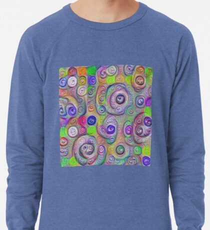 Space snowballs #DeepDreamed Lightweight Sweatshirt