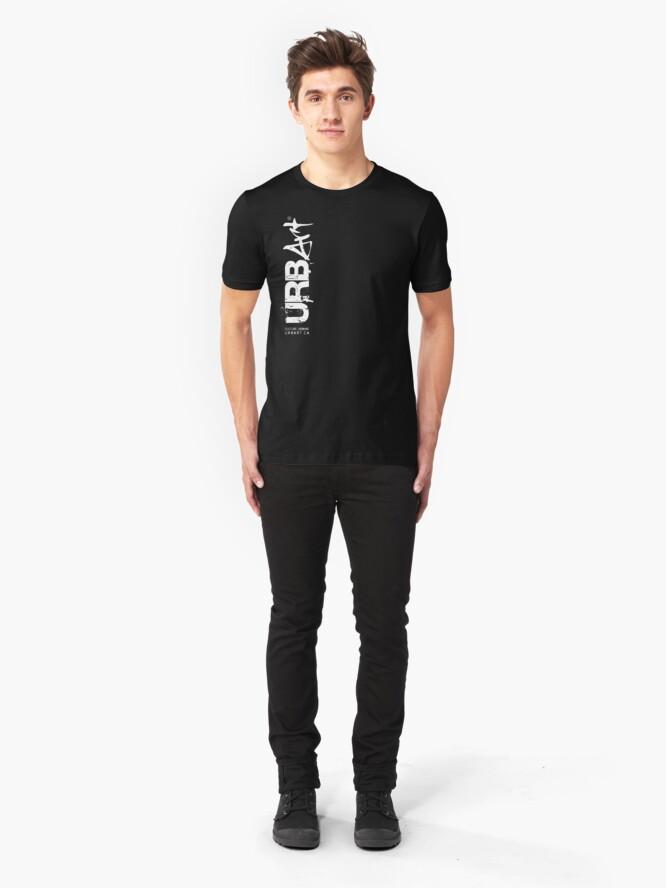 T-shirt ajusté ''UrbArt®': autre vue