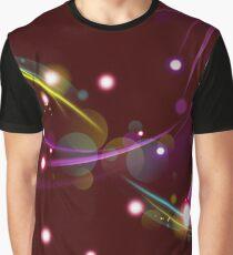 Burgundy Wine Magic Graphic T-Shirt