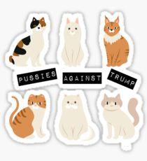 Pussies Against Trump Sticker