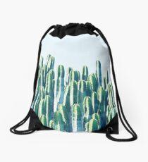 Cactus V2 #redbubble #home #lifestyle #buyart #decor Drawstring Bag