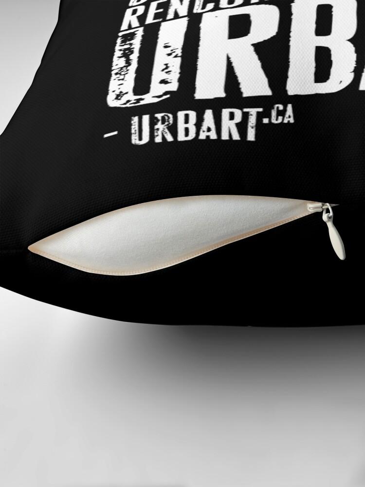 Coussin ''UrbArt® - Culture urbaine': autre vue