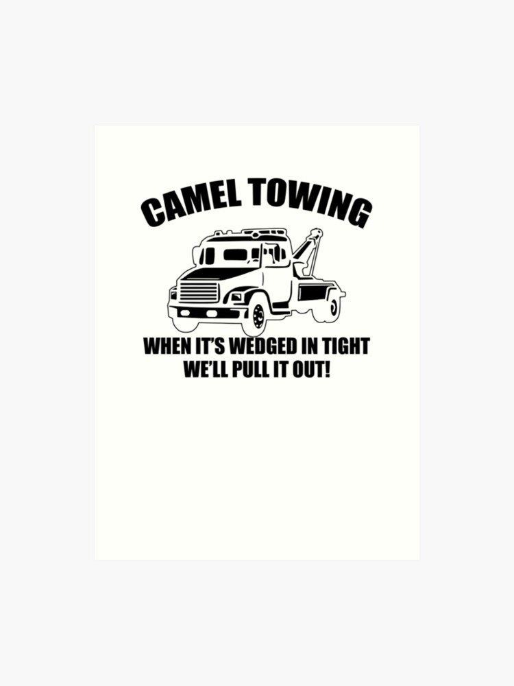 f54d3199 Camel Towing Mens T-Shirt Tee Funny Tshirt Tow Service Toe College Humor  Cool Art