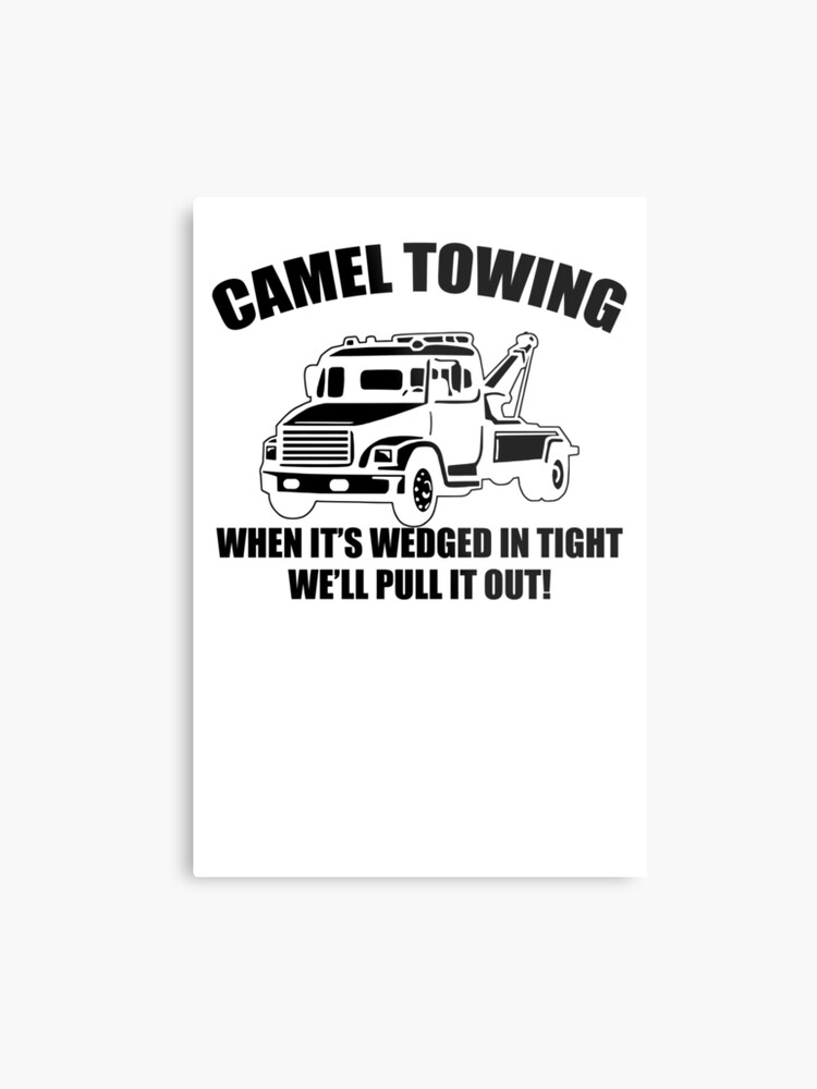 331ed62c2 Camel Towing Mens T-Shirt Tee Funny Tshirt Tow Service Toe College Humor  Cool Metal