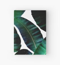 Cosmic Banana Leaves #redbubble #lifestyle Hardcover Journal