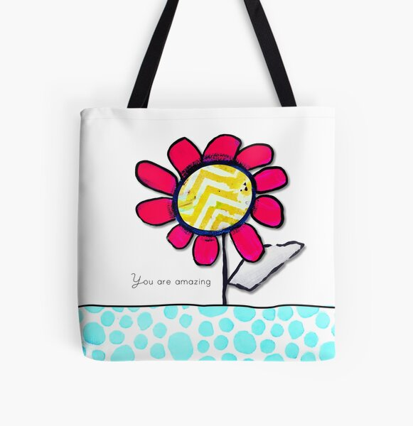 """""""You Are Amazing"""" Original design by PhillipaheART All Over Print Tote Bag"""