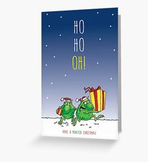 Oh No Terrible Two! Greeting Card